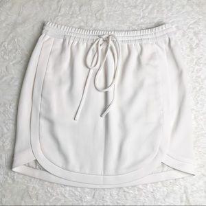 J.Crew Drapey Double-twill Skirt